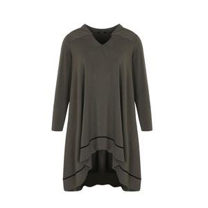 Unifarbenes Kleid, halblang MAT FASHION