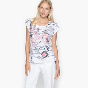 T-shirt imprimé, manches courtes ANNE WEYBURN