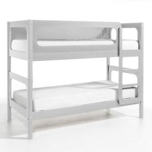 lit superpose gris la redoute. Black Bedroom Furniture Sets. Home Design Ideas