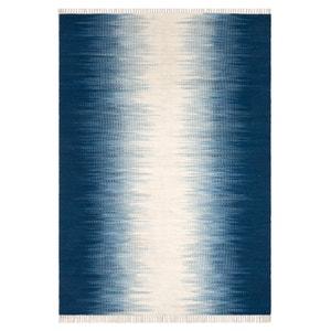 Tapis tissé à plat motif kilim en laine, Lilus AM.PM.