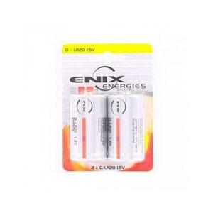 Blister 2 piles Alcaline LR20 NX ENIX ENERGIE