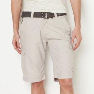 Bermudas con múltiples bolsillos y cinturón tipo correa SCHOTT