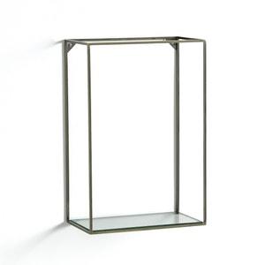 Étagère verticale métal/verre, Oshota AM.PM.