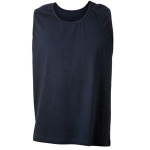 Tee-shirt sans manche bleu marine ADAMO