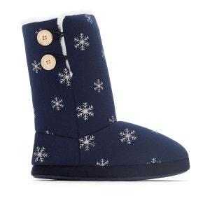 Chaussons boots fourrés La Redoute Collections