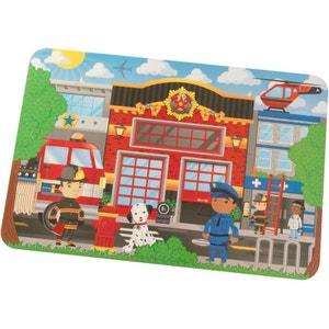 Puzzle géant Pompier 24 pièces KIDKRAFT