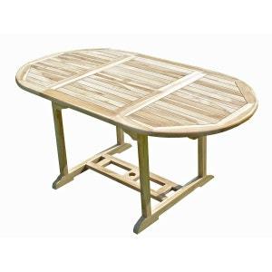Table de jardin en teck SOLO 6/8 places C ET L JARDIN