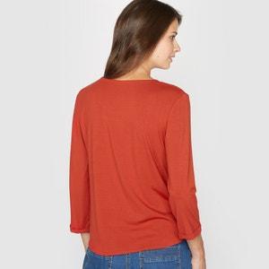 T-shirt, bi-matière ANNE WEYBURN
