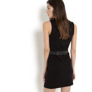 Sukienka RENSHY, bez rękawów, z dwóch materiałów SUD EXPRESS