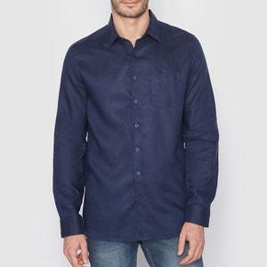 Koszula, krój prosty, 100% lnu La Redoute Collections