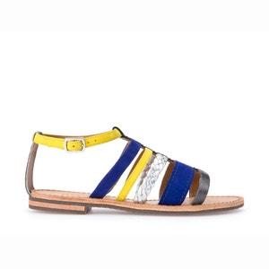 Skórzane sandały D Sozy E GEOX