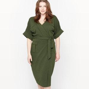 Kleid im Safari-Style, Reliefstruktur CASTALUNA