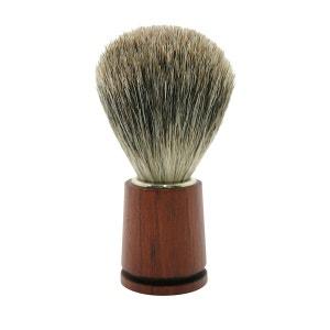 Brosse de rasage gris extra de blaireau ALTESSE