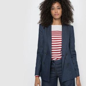 Veste tailleur en jean atelier R