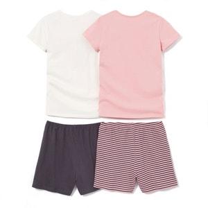 Pyjashort (set van 2) La Redoute Collections
