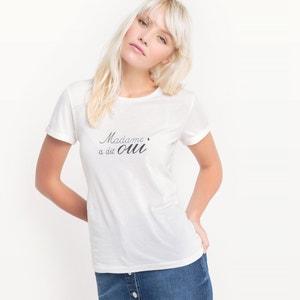 Camiseta Madame a dit oui, algodón MADEMOISELLE R
