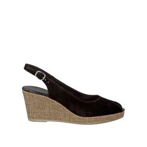 Sandalias de piel con tacón de cuña 29303-28 TAMARIS