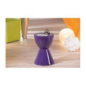 Table d'appoint TAMTAM Violet DECLIKDECO