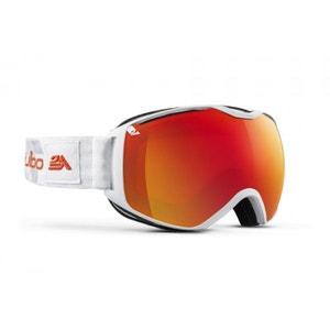 Masque de ski mixte JULBO Blanc QUANTUM Blanc / Orange Spectron 3+ XL JULBO