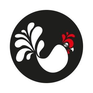 Sticker mural cuisine Cocorico MILI.GARDEN