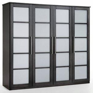 Armoire 4 portes, dressing, pin, H180 cm, Bolton La Redoute Interieurs