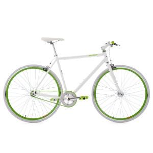 Fitnessbike 28'' Flip Flop blanc-vert 59 cm KS Cycling KS