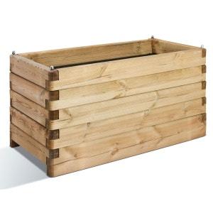 Jardinière en bois rectangulaire Oléa 100 JARDIPOLYS