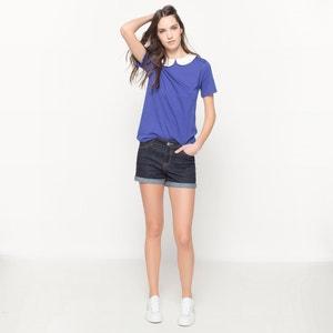 T-shirt met polokraag, juweel MADEMOISELLE R