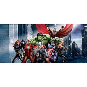 Poster géant Héros Avengers Marvel 202X90 CM WALLTASTIC