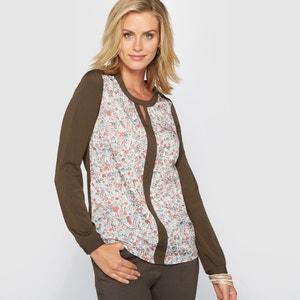 Wzorzysta bluzka z nadrukiem ANNE WEYBURN