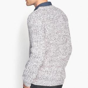 Trui in grof tricot met ronde hals La Redoute Collections