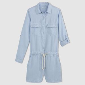 Tuta-shorts maniche lunghe CIMARRON