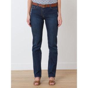 Jean 5 poches femme straight denim stretch, CODEN SOMEWHERE
