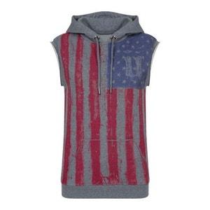 UNKUT Sweat-shirt  à capuche Femme - Used Hoody - Gris UNKUT