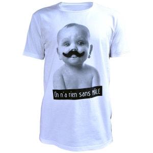 T-Shirt homme style imprimé Mascotte PHILEMON