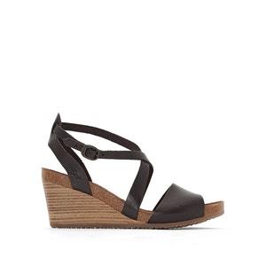 Sandales cuir compensées Spagnom KICKERS
