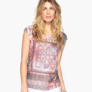 Dual Fabric T-Shirt ANNE WEYBURN
