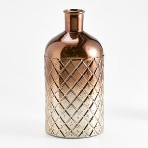 Gitter Diamond-Engraved Bottle-Shaped Vase La Redoute Interieurs