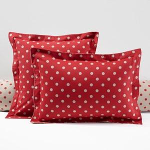Funda para almohada de franela estampada, Clarisse La Redoute Interieurs
