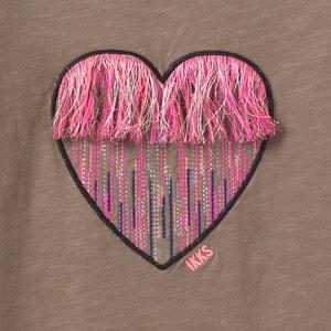 T-shirt met lange mouwen en geborduurd hart IKKS JUNIOR