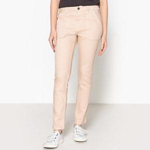 Jeans direitos, corte regular, JANE REG LABDIP