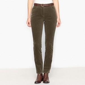 Pantaloni velluto stretch ANNE WEYBURN