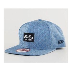 Casquette New Era Quilted Patch Bleu NEW ERA CAP