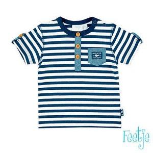 FEETJE T-shirt rayé «poche» top bébé vêtements bébé FEETJE