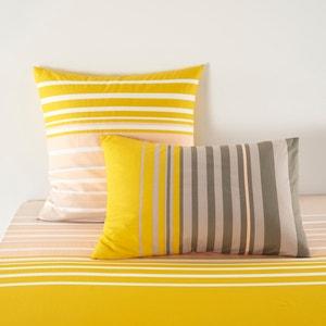 URBAN MIX PASTEL Printed Cotton Single Pillowcase. La Redoute Interieurs