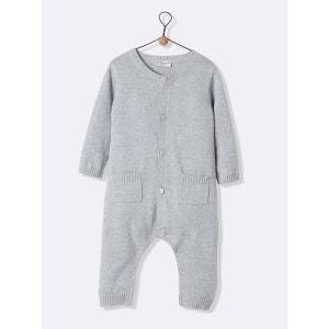 Combinaison en coton/cachemire bébé CYRILLUS