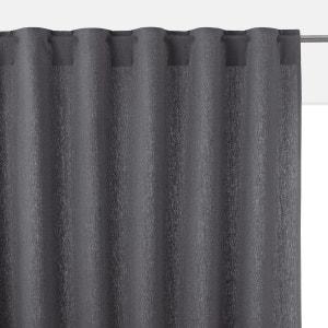 Rideau en métis lin/coton pattes cachées TAÏMA La Redoute Interieurs image