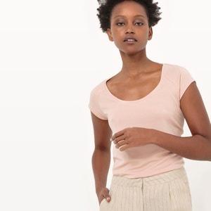 Camiseta de manga corta en modal R essentiel