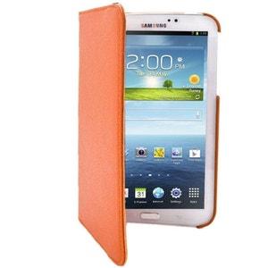 Housse Samsung Galaxy Tab 3 P3200 étui 7 pouces support 360° Orange Yonis
