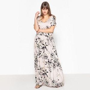 Robe  droite imprimé floral longue CASTALUNA